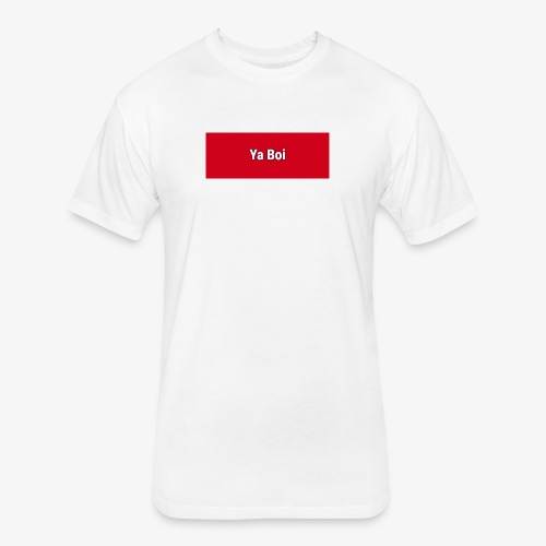 Ya Boi Redline - Fitted Cotton/Poly T-Shirt by Next Level