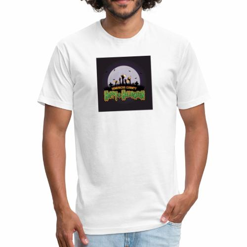 Hoppy Halloween - Fitted Cotton/Poly T-Shirt by Next Level
