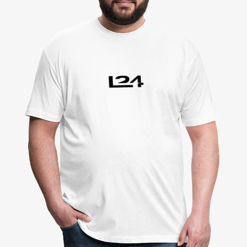 Launch 24 Apparel - Fitted Cotton/Poly T-Shirt by Next Level