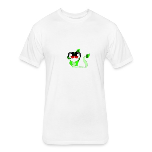 Leafys Merch - Fitted Cotton/Poly T-Shirt by Next Level
