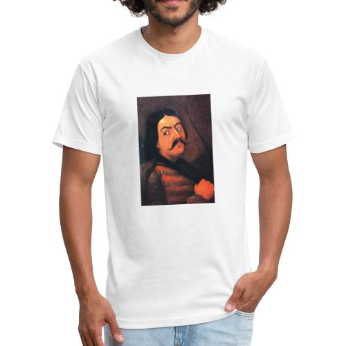 DragosIofMoldavia - Fitted Cotton/Poly T-Shirt by Next Level