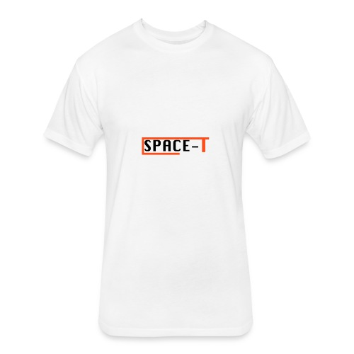 Space-T march 1 - Fitted Cotton/Poly T-Shirt by Next Level
