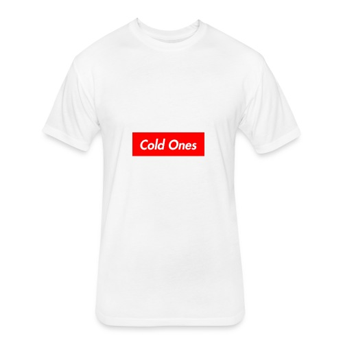 Cold Ones - Fitted Cotton/Poly T-Shirt by Next Level