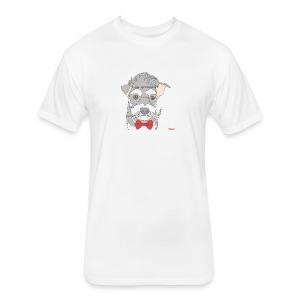 I am groomed - Fitted Cotton/Poly T-Shirt by Next Level