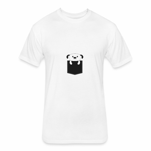 DOG - Fitted Cotton/Poly T-Shirt by Next Level