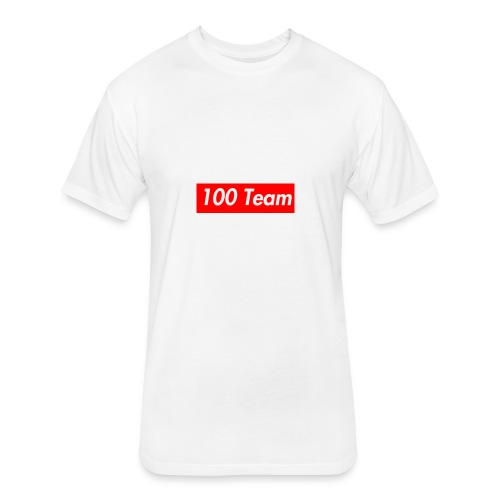 100 Team - Fitted Cotton/Poly T-Shirt by Next Level