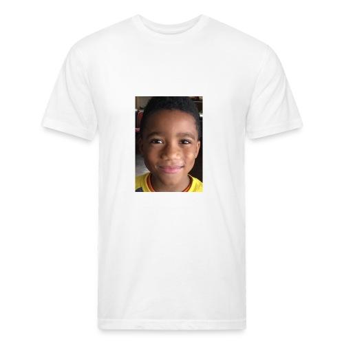 7A063884 A66A 4891 9AD0 5B624D1103C7 - Fitted Cotton/Poly T-Shirt by Next Level
