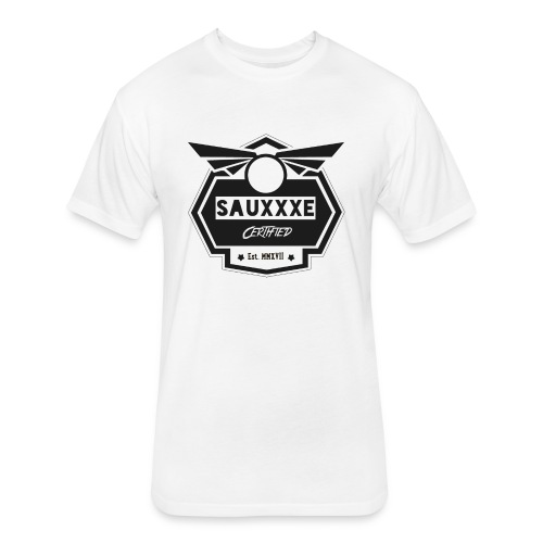 blacksauxe - Fitted Cotton/Poly T-Shirt by Next Level