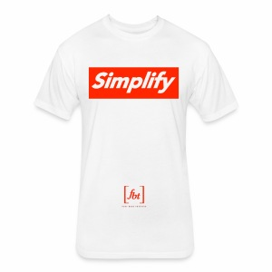 Simplify [fbt] - Fitted Cotton/Poly T-Shirt by Next Level