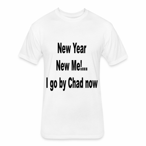 New Year New Me - Fitted Cotton/Poly T-Shirt by Next Level