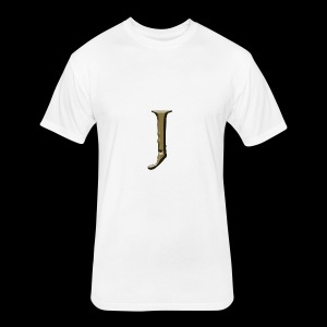 J - Fitted Cotton/Poly T-Shirt by Next Level