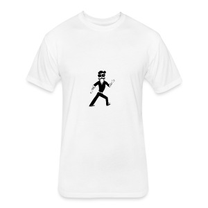 The Famous Mr Warrior - Fitted Cotton/Poly T-Shirt by Next Level
