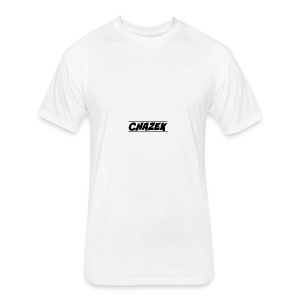 Chazek - Fitted Cotton/Poly T-Shirt by Next Level