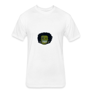 DeadHeadOG_-_messyhead - Fitted Cotton/Poly T-Shirt by Next Level