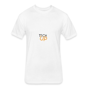 TechUp! - Fitted Cotton/Poly T-Shirt by Next Level