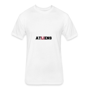 ATLIENS - Fitted Cotton/Poly T-Shirt by Next Level