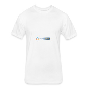 TheAdsTeam Logo - Fitted Cotton/Poly T-Shirt by Next Level