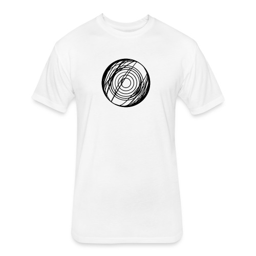 Anti-Spiral - Fitted Cotton/Poly T-Shirt by Next Level