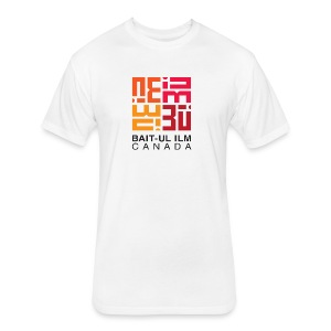 BUI Canada Logo - Fitted Cotton/Poly T-Shirt by Next Level