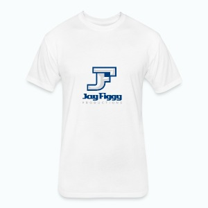 JayFiggyProductions - Fitted Cotton/Poly T-Shirt by Next Level