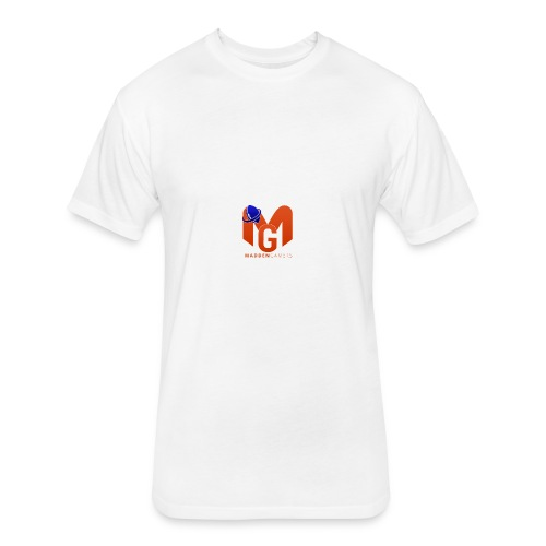 MaddenGamers MG Logo - Fitted Cotton/Poly T-Shirt by Next Level