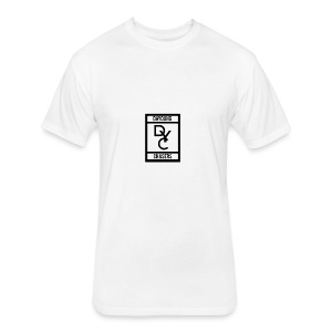 DYC-LOGO - Fitted Cotton/Poly T-Shirt by Next Level