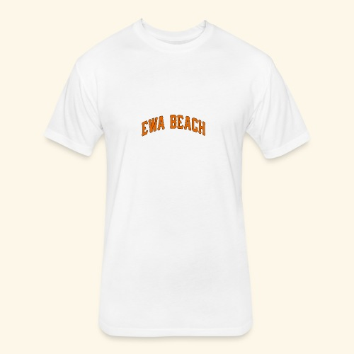 EWA BEACH Mens T - Fitted Cotton/Poly T-Shirt by Next Level