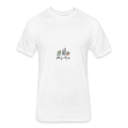succulents - Fitted Cotton/Poly T-Shirt by Next Level