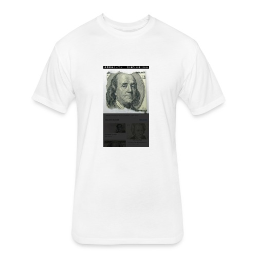 Being Frank - Fitted Cotton/Poly T-Shirt by Next Level
