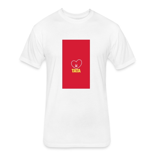 BTS TATA MERCH - Fitted Cotton/Poly T-Shirt by Next Level