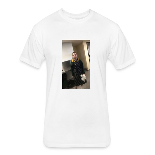 Megs hot pic - Fitted Cotton/Poly T-Shirt by Next Level