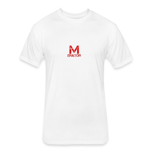 Meme_Erator Logo - Fitted Cotton/Poly T-Shirt by Next Level