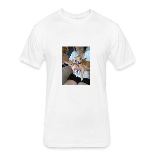 Lewie and Dooie - Fitted Cotton/Poly T-Shirt by Next Level