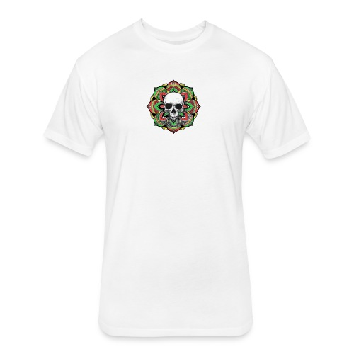 St.Muerte - Fitted Cotton/Poly T-Shirt by Next Level