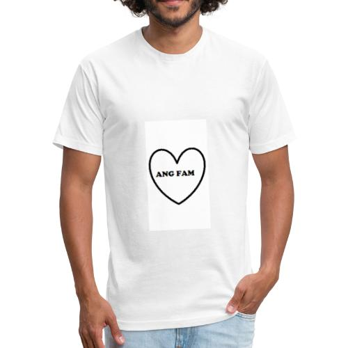 AngFam - Fitted Cotton/Poly T-Shirt by Next Level