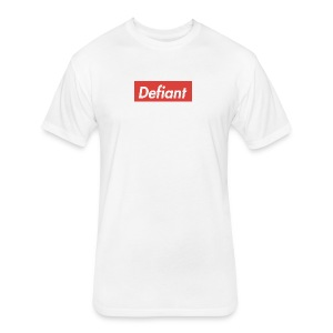 Defiant Superm - Fitted Cotton/Poly T-Shirt by Next Level