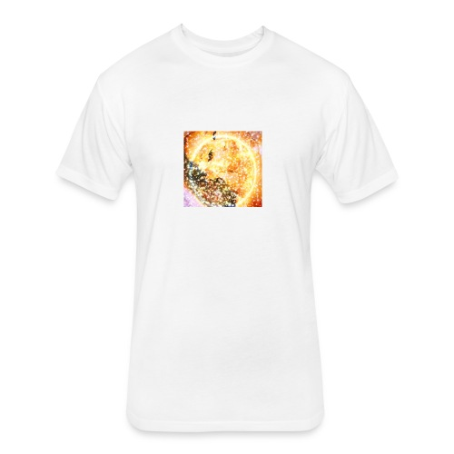 ariana - Fitted Cotton/Poly T-Shirt by Next Level