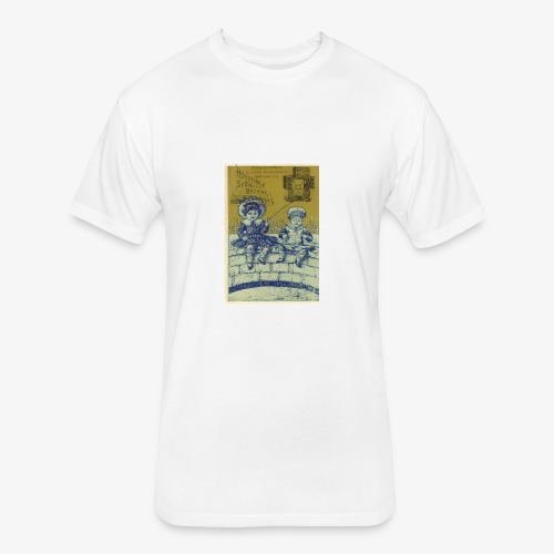 Vintage Ad T-Shirt - Fitted Cotton/Poly T-Shirt by Next Level
