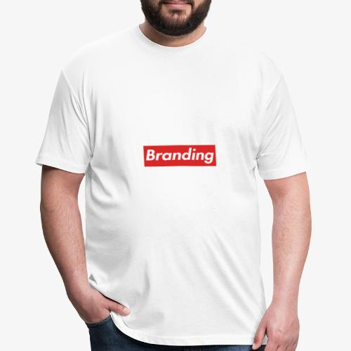Branding T-Shirt - Fitted Cotton/Poly T-Shirt by Next Level