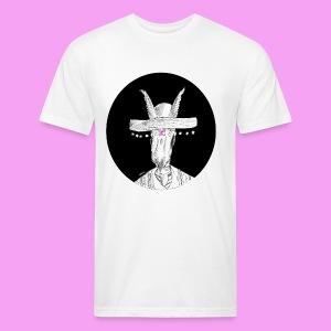 ガゼル - Fitted Cotton/Poly T-Shirt by Next Level