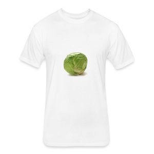CabbageTexts Streetwear - Fitted Cotton/Poly T-Shirt by Next Level