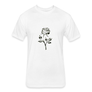 Rose by Originals - Fitted Cotton/Poly T-Shirt by Next Level