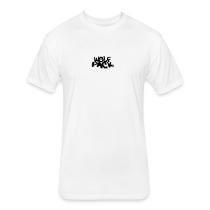 WolfPack Paw Logo - Fitted Cotton/Poly T-Shirt by Next Level
