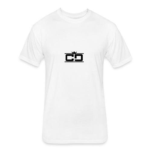 CD (King Design) - Fitted Cotton/Poly T-Shirt by Next Level