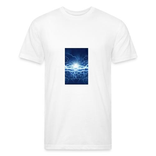 3ADBB935 AC2C 4E56 98FB 25CC12CEAB3B - Fitted Cotton/Poly T-Shirt by Next Level