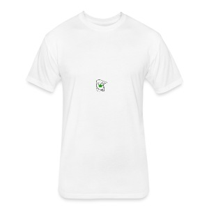 LEAF FACE - Fitted Cotton/Poly T-Shirt by Next Level