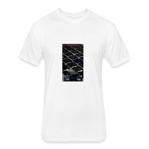 Dj SmooVy D - Fitted Cotton/Poly T-Shirt by Next Level