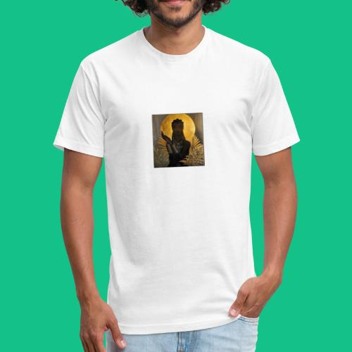 sun goddess - Fitted Cotton/Poly T-Shirt by Next Level