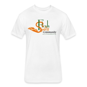 Flesh and Spirit Community T-Shirt - Fitted Cotton/Poly T-Shirt by Next Level