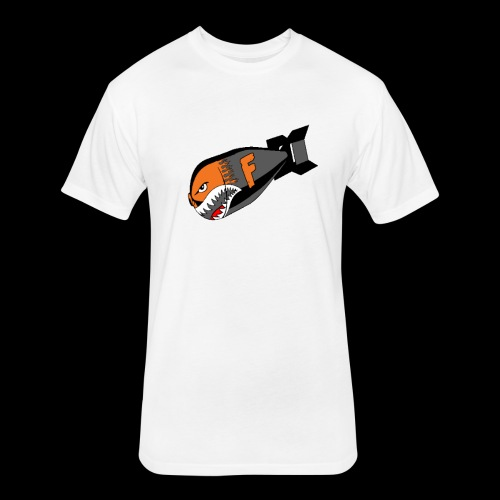 F Bomb - Fitted Cotton/Poly T-Shirt by Next Level